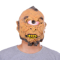 Cyclops Hell Devil Demon Mutant Personal Mask Party Costume Horror Mask Festival Gift