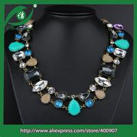 2014 wholesale statement necklace zinc alloy statement necklace