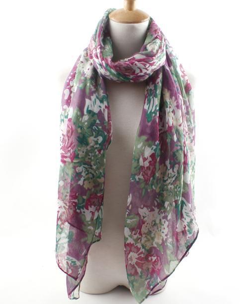 20 pcs/lot Free shipping 190*95 cms cotton polyester scarf fashion shawl cheap scarves 2014 New shawls retail wholesale(China (Mainland))