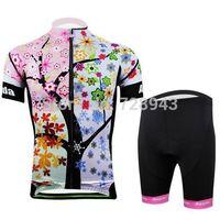 2014 New Style!  Hot ! women cycling wear /Cycling short jersey (bib) shorts woman Clothing set CC2027