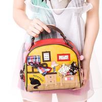Braccialini Style Women Messager Handbag TottyBlu Sweet Women' Totes 2014 Trend New Fashion Handbag Free Shipping