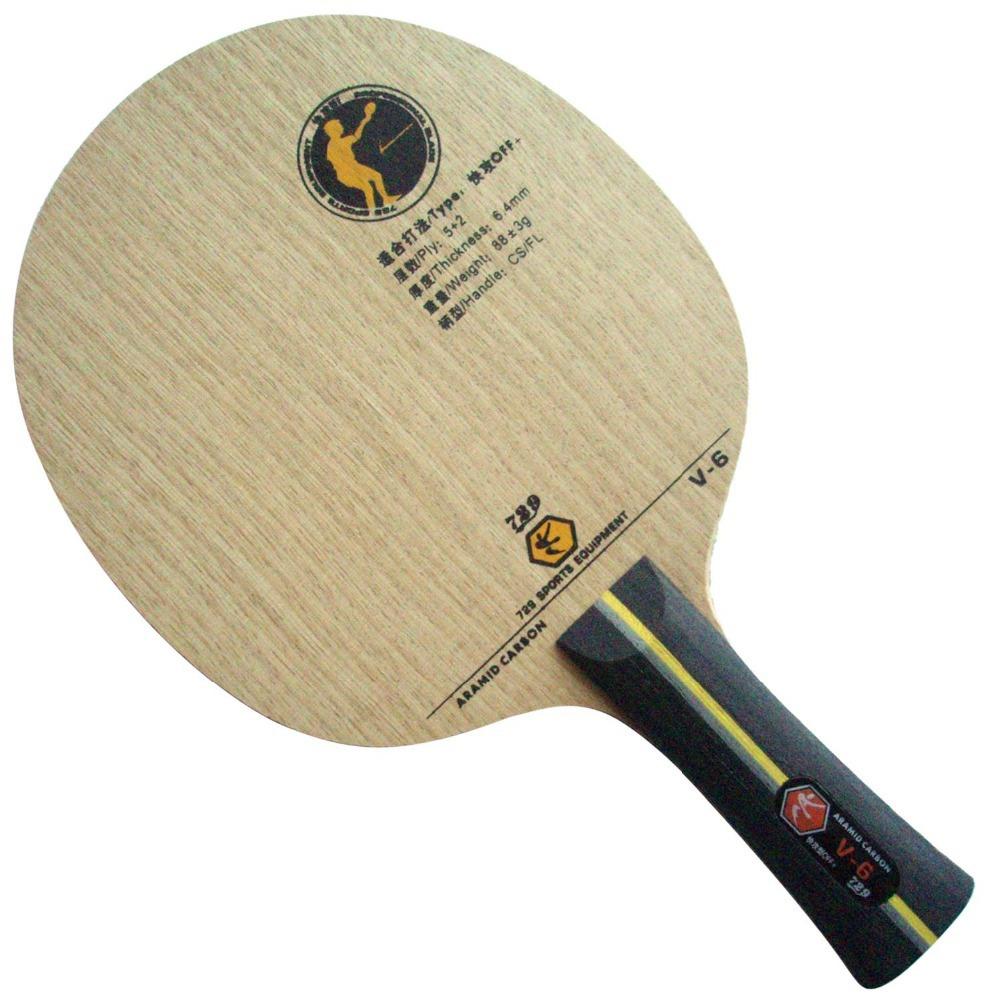RITC 729 Friendship V-6 (V6, V 6) table tennis / pingpong blade(China (Mainland))