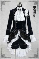 Kuroshitsuji/Black Butler ciel phantomhive Cosplay Anime Costume Halloween Costume Made Any Size
