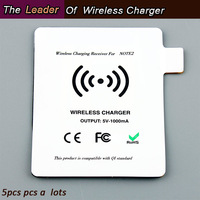 Wholesale Note 2 Wireless Charging Receiver Adapter Free Shipping