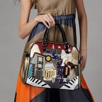 Women's Messenger Handbag Brand 2014 New Trend Braccialini Style Handbag TottyBlu Fashion Shoulder Bag Free Shipping