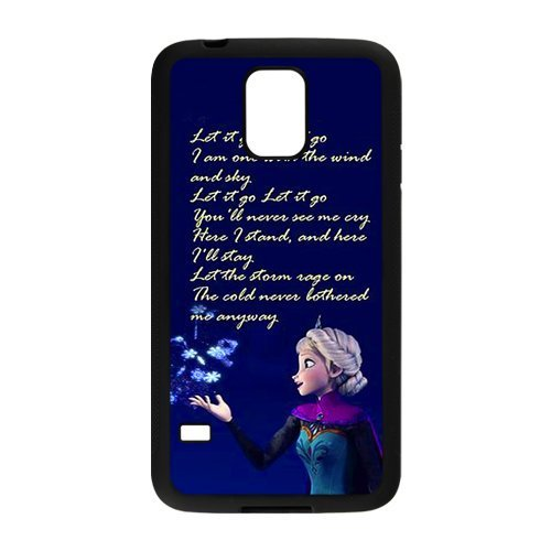 Free shipping Famous Cartoon Frozen Let It Go cell phones case for SamSung Galaxy S3 i9300 S4 I9500 S5 I9600(China (Mainland))