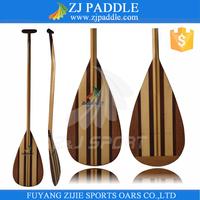 Full Wooden Outrigger Canoe Paddle