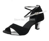 New Arrival Ladies Latin Tango Ballroom Salsa Heeled Dance Shoes  5.5cm Heel High Free Shipping