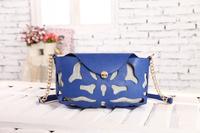 2014 women bag fashion hollow out bag women shoulder bag messenger bag high quality free shipping