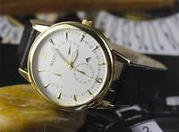 Fashion Leather Strap Watches Simple Style design Quartz Watch Men & Women Fashion Watch wristwatch