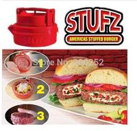 48pcs ! 2014 latest Stufz Stuffed hamburger press,kitchen meat and poultry tools,burger press meat,hamburger machine