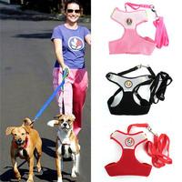 Pet Dog Puppy Cat Leash Vest Mesh Breathe Adjustable Harnes Chest Braces Clothes Free Shipping