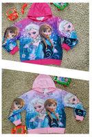 Freeshipping Hot! Frozen Elsa & Anna Children sweater For children's Christmas gift N.880
