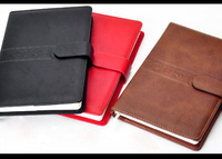 A6 leather Soft Cover agenda Notebook cover high quality Agenda leather cover notebook cover