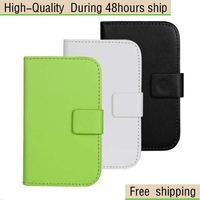 High Quality Magnetic Wallet Flip Leather Case Cover For LG L40 D160 D170 Free Shipping China Post Air Mail