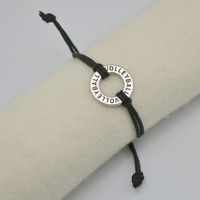 New Style 30PCS/lot Zinc Alloy Volleyball Sport Charm Handmade Rope Bracelet Jewelry(B104824)