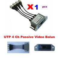 1 x UTP 4 Ch Passive Video Balun Transceive BNC EDS-video balun to UTP RJ45