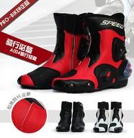 WINTER PRO-BIKER waterproof leather motorcycle boots professional motorcross racing boots motorbiker boot