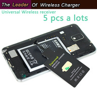 (5pcs/lot) Universal Receiver Compatible With QI Standard Devices Free Shipping