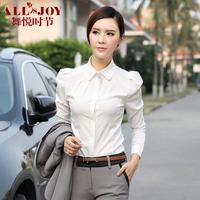 Ol formal female front desk work wear autumn female work wear set women shirt