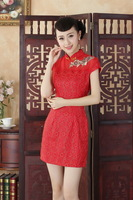 2014 new arrival Hot Sale Chinese Traditional Dress Cheongsam size :S-XXL