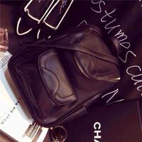 New 2014 Women's PU Handbag Retro Vintage Messenger Bag Tote Lady Trendy Shoulder Bags Multi-purpose Shoulder Bag Factory Price