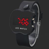 New Arrival Black Fashion Boy Girls Children Unisex Sports Digital LED Gifts Wrist Watches Hours Clocks, Free Shipping