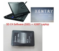 MB STAR Compact 4 SD connect C4 das xentry 2014.05 21 languages Software SSD Plus X200T Laptop