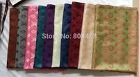 Promotion!Hot Sale 100% Silk Scarf winter Scarf 2014 NEW Spring Silk scarf !! Fashion Women Letter Scarf Silk Scarf 200*70CM
