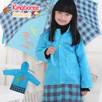 New arrival, 1 piece assorted colors S/M/L size nylon children raincoat