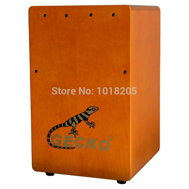 USA Brand GECKO professional Cajon Box Drum also good sitting wooden Stool chair box furniture at liveing room(China (Mainland))