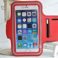 300pcs Neoprene Running Armband Sports Case Suporte Para Celular Braco Mobile Phone Bags Cases for iPhone 6