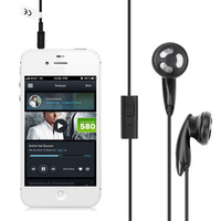 Excelvan 3.5mm Popular and Universal In-Ear Ear bud Earphone Headset Headphone with mic For iPhone For iPad Mini