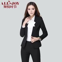 Spring pants set fashion work wear women's suit formal work wear