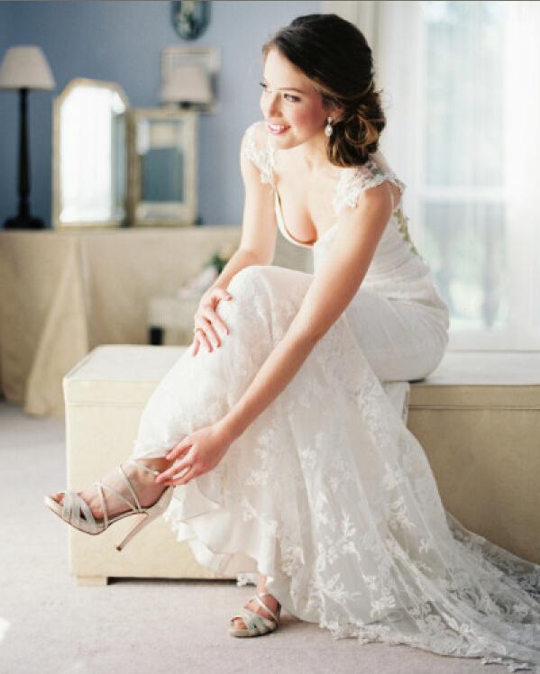 custom made vestido de noiva v neck sheer back lace mermaid wedding dresses appliques bridal gown cap sleeve wedding dress(China (Mainland))