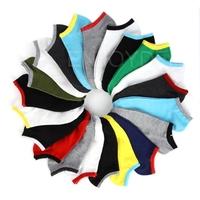 5pairs Men Socks Invisible Thin Socks Sport Crew Ankle Low Cut Cotton Socks