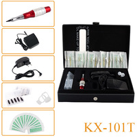 KX-101T Professional Tattoo Machine kits Permanent makeup eyebrows Machine cosmetic Tattoo Starter Kits Free Shipping