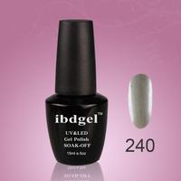 Choose 12PCS  soak off  Ibdgel  professional  uv gel polish 15ml  mix colors (10color gel+1top coat+1base coat)