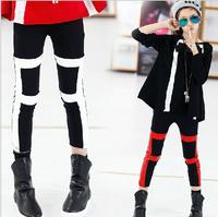 2014 autumn new wild fight skin girls leggings stretch pencil pants long pants