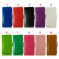 """Newest Photo Frame PU Leather Flip Cover Stand Wallet Style Credit Card Slot Case Cover For iphone 6 4.7"""""""