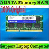 Original ADATA ELPIDA PC3-10600 Memory RAM 1GB (1066M) 2GB 4GB 8GB 16GB DDR3 1333M FOR Laptop Notebook Computer Compatible 1066M