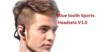 50pcs/lot,100% genuine V3.0 Blue tooth 4 Colors Sports Wireless Bluetooth StereoHeadset Headphone Earphone with retail packing