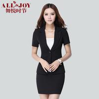 Summer work wear women's skirt formal female ol suit suits work wear short-sleeve