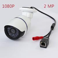 Free shipping FULL NEW IP camera CCTV 2 MP HD 1080P IP Network Security CCTV Waterproof IR Camera IP66 Onvif Power as a gift