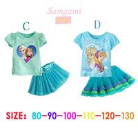 Kidsdress Sale Dresses Vestido Infantil 2014 New Girls' Frozen Dress for Girl's Princess Tutu Kids Summer Lovable free Shipping