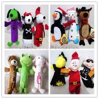 Free shipping new styles pet plush toy dog Bottle Cruncher Dog Toys randomly  styles 10pcs/lot