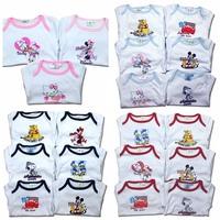 2014 new wear gladbaby 100% cotton  Baby Romper full sleeve body suit mickey &minie  carters cute animal