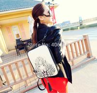2014 new promotional College Wind minimalist retro casual shoulder bag Leopard shoulder bag118free to send