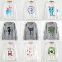 [Magic] Hot clothing new design long sleeve thin hoodies good printed fashion casual cotton sweatshirt 28 models free shipping