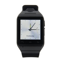 """Smart Watch S19 Bluetooth SmartWatch Wristwatch Cell Phone 1.54"""" Touch Screen 2MP Camera TF GSM SMS FM Sync Android OS Handsfree"""